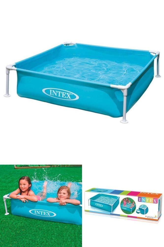 Bestway 5Ft X 15-Inch My First Frame Pool Outdoor Garden Kids Summer Paddling