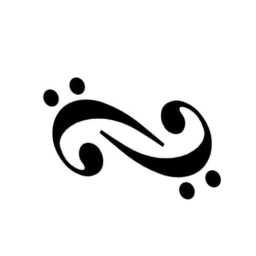 bass clef infinity by ~ninquelote on deviantART