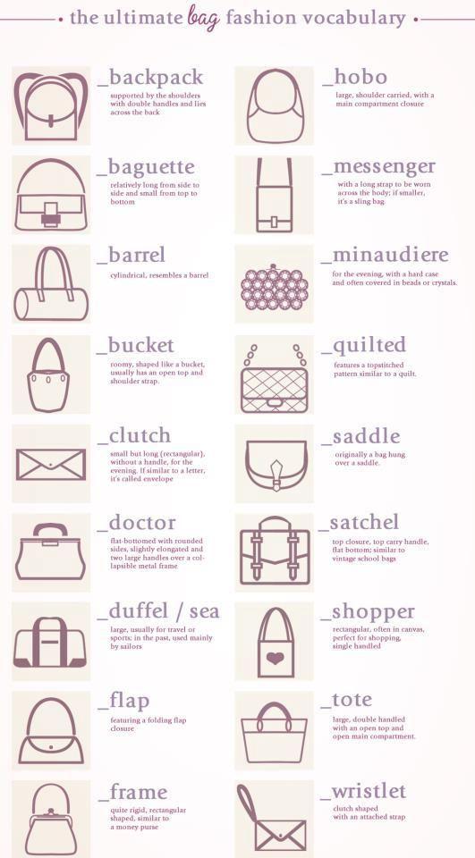 the ultimate bag vocab