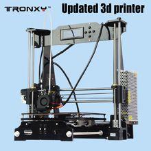 Tronxy Upgraded Quality High Precision Reprap 3D printer Prusa i3 DIY kit P802E bowden extruder Auto leveling E3DV5