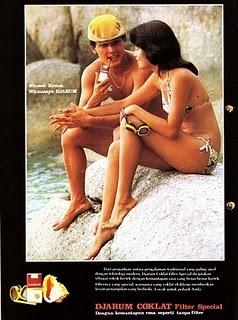 Iklan Djarum Coklat tahun 1980