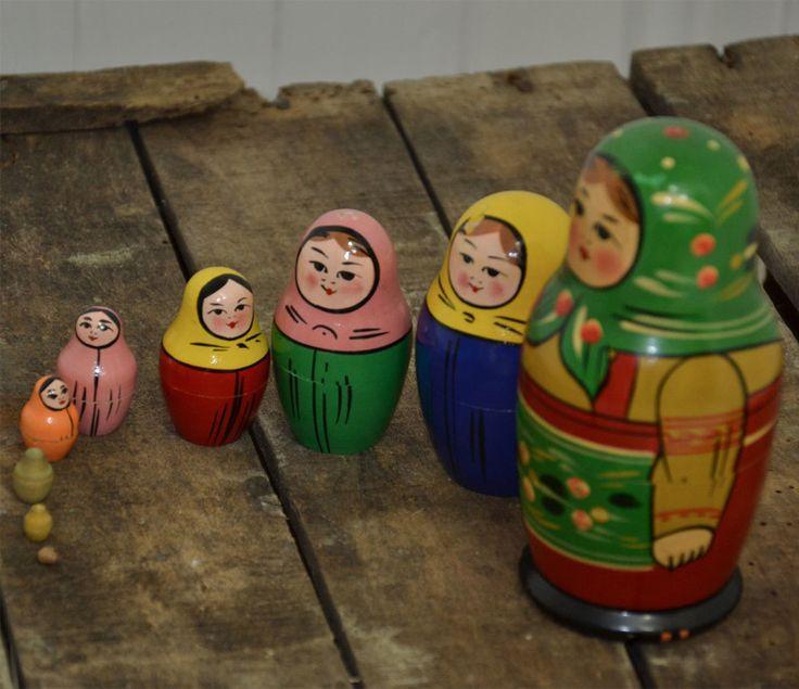 matrioska famiglia 9 componenti