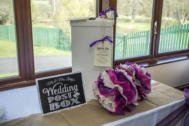 Wedding Post Box for all the greeting from your lovely guests.