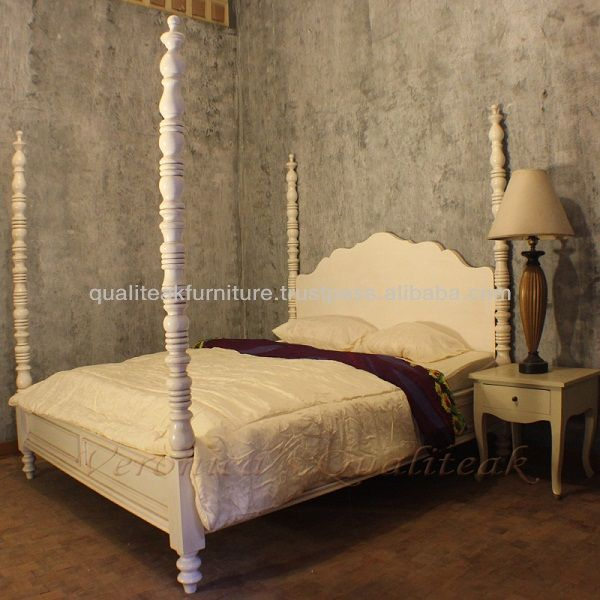1000 images about white 4 poster bed revival on pinterest for 4 poster white bed