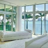 What would you give to wake up to this view every day? Miami Heat player, Chris Bosh, enjoys amazing ocean views from nearly every room of his house on North Bay Road.