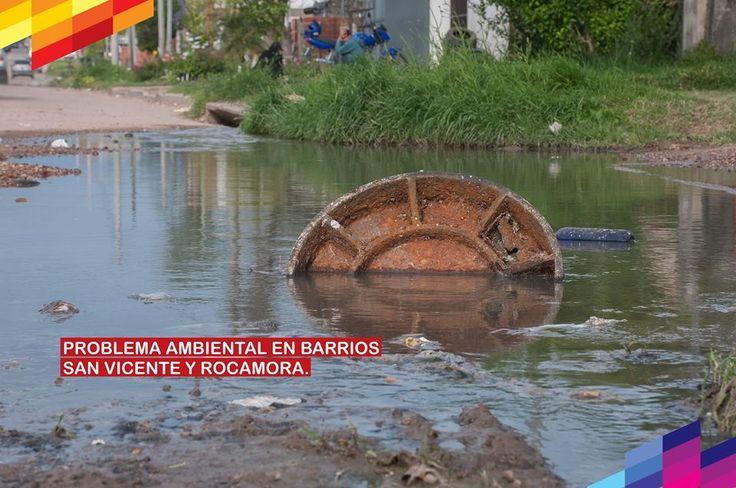 Cambiemos Concepción del Uruguay: PROBLEMA AMBIENTAL EN BARRIOS SAN VICENTE Y ROCAMO...