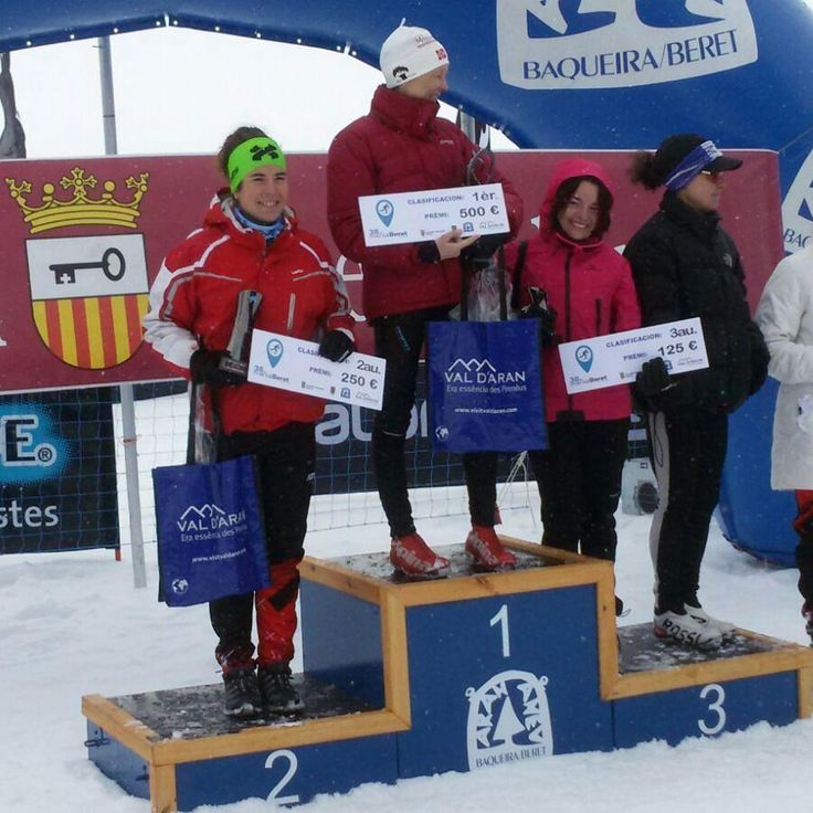 Marxa Beret 42km. Congratulations to our sponsored skier @uxueLoizu! Well done!! #marxa #beret #marxaberet2017 #bonessports #bonesskiroll #rollerski