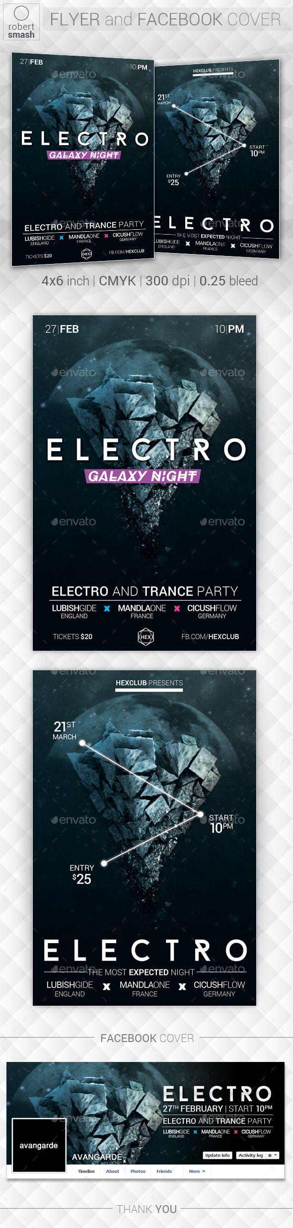 Galaxy Night Music Flyer. Download: https://graphicriver.net/item/galaxy-night-music-flyer/18720046?ref=thanhdesign