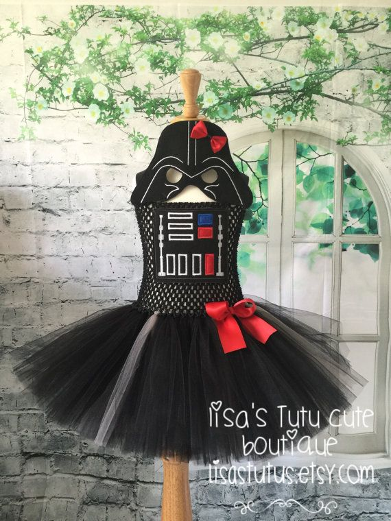 Darth Vader Tutu Dress. Darth vader tutu Darth vader by LisasTutus