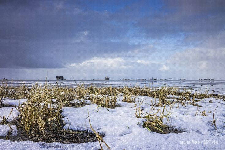 Winterimpressionen in St. Peter-Ording