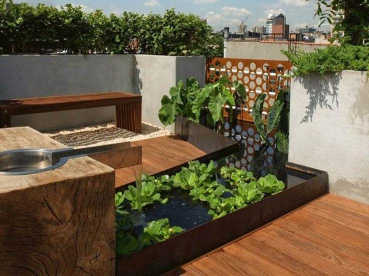 home decor with urban garden idea