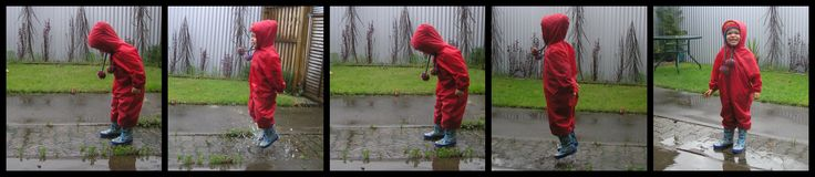 Keep your littlies clean and dry when puddle hunting and puddle jumping by popping on their Mud Mates Coveralls. NZ$40 www.mudmates.co.nz