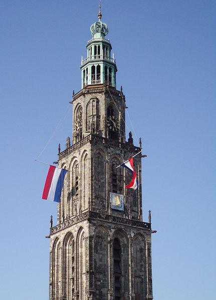 Groningen d'Olle Griese Martinitoren