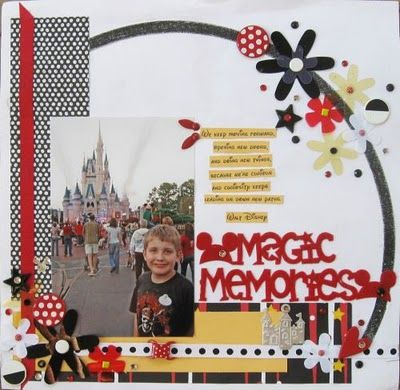 Blogged her whole Disney album!!! Oh my! I have some work to do!