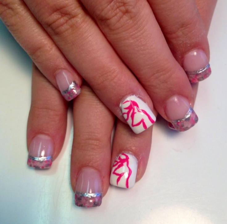 Camo nails with Browning sign! - 116 Best Nail Designs Images On Pinterest Country Girl Nails