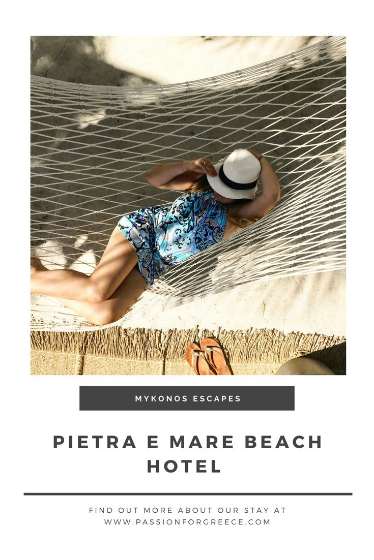 Pietra e Mare Beach Hotel: A Small Luxury Hotel on Mykonos - Passion for Greece