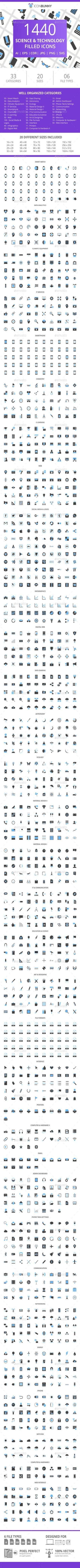 Trendy Science And Technology Icon Ideas