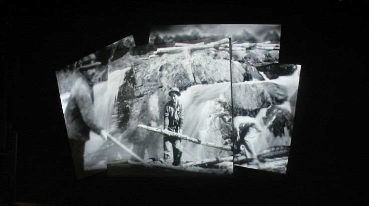 "Lucion - ""Musée du Bas-Saint-Laurent"", video projection  http://www.lucionmedia.ca"