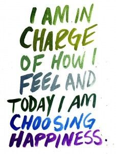 You can choose to be HAPPY, it is a choice, Life Coaching can guide you there.  http://www.livelawofattraction.com