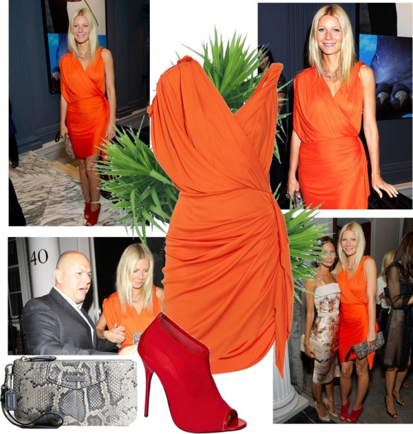 """""""2011 Coach Dinner in London~ Gwyneth Paltrow"""" by snugget9530 ❤ liked on Polyvore"""