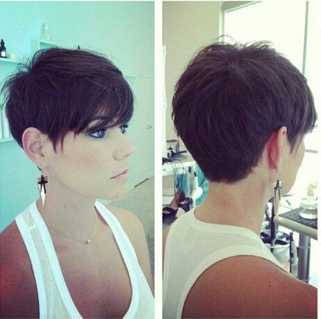 Love this cut! I just need to get the guts to actually do it. Lol.