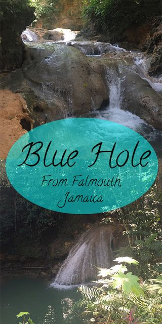Port Day in Falmouth, Jamaica// A Day at the Blue Hole