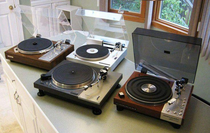 Vintage Audio Love Turntable Marantz Pioneer