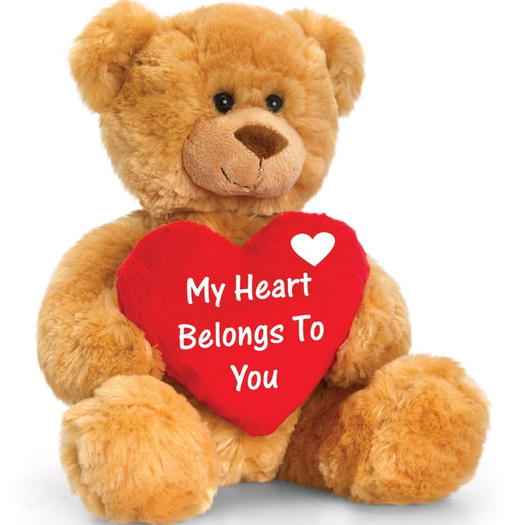 148 best love you teddy bears images on pinterest honey love you teddy bear with heart altavistaventures Images