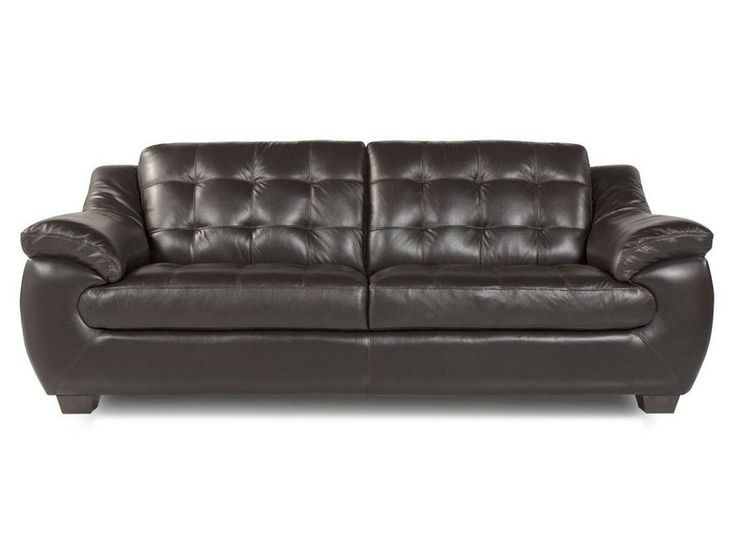 7745 Quilt Tufted Leather Sofa By Futura Leather Leathersofa Tufted Leather To Live On