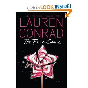The Fame Game by Lauren Conrad is a continuation of her L.A. Candy series that gets a bit more juicier this time around. So far so good!