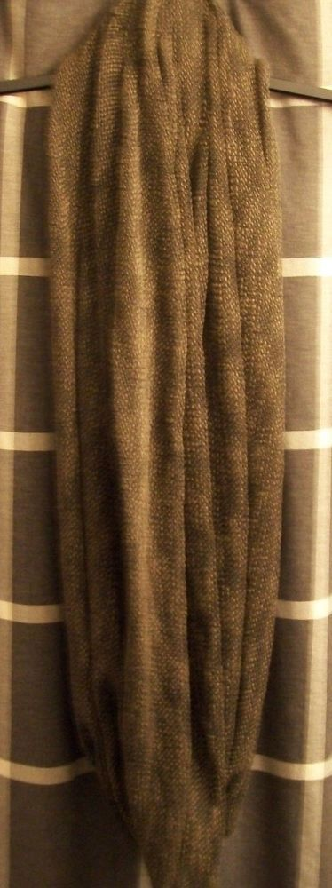 h & m divided black green beige popcorn knit cowl infinity pashmina wrap scarf #HM #CowlInfinity