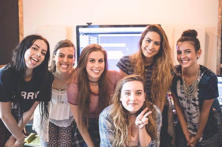 "Cimorelli on Instagram: ""Throwback to recording our Alive album!!! It was such a fun process for us... We each wrote different songs on the album and we shared some…"""