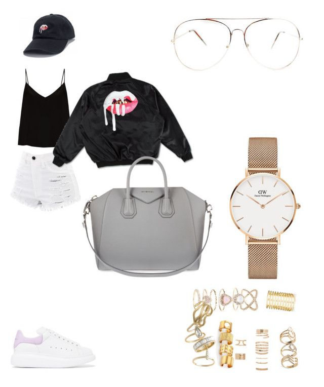 """OOTD"" by madisonkiss on Polyvore featuring Alexander McQueen, Raey, Forever 21, Kelly Wearstler, Alexis Bittar, Accessorize, Q&Q, Jules Smith, Givenchy and Daniel Wellington"