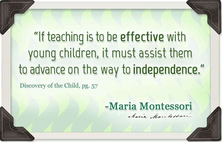 discoveries of maria montessori The montessori method started in 1906, with discoveries made by dr maria  montessori she used the scientific method of observation to come to many  insightful.