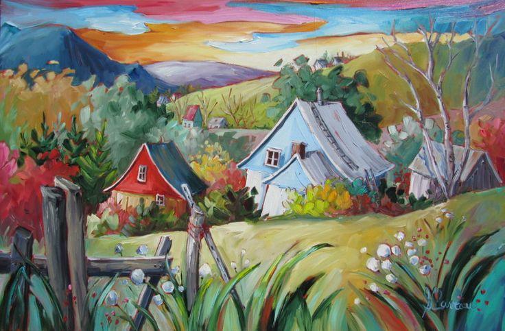 paysages champ tres centre d 39 art suzanne claveau artiste peintre paysages pinterest. Black Bedroom Furniture Sets. Home Design Ideas