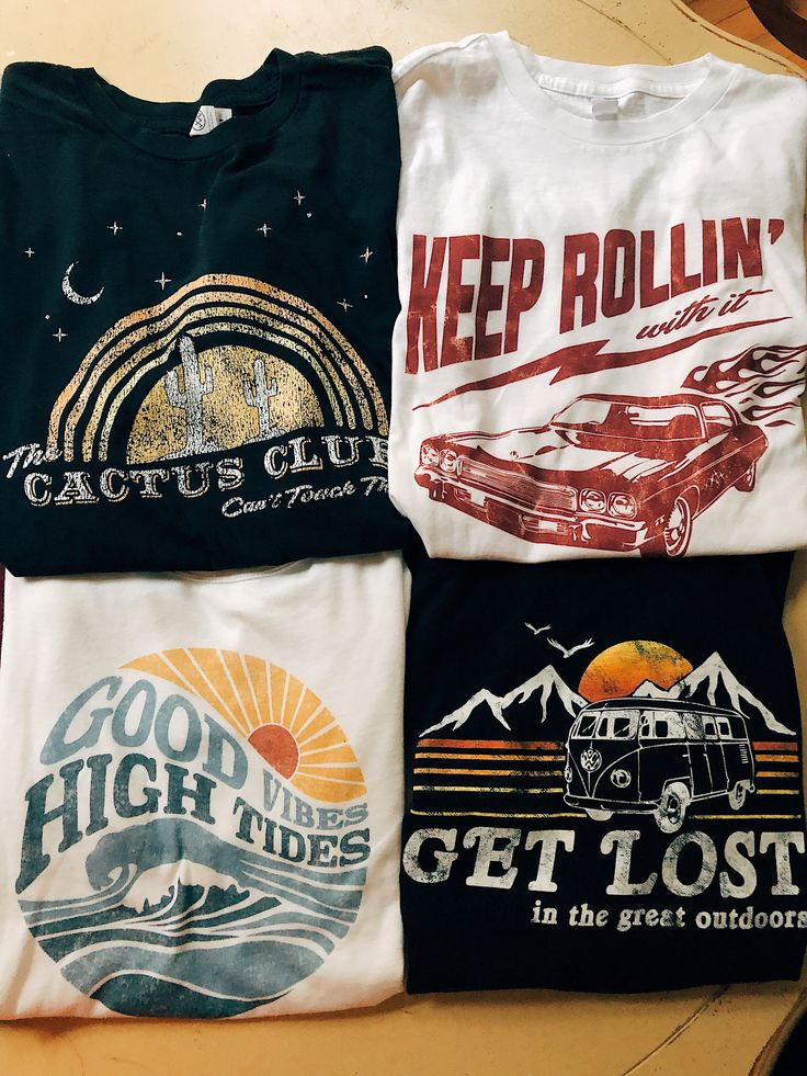 Wild at heart! Our newest collection of graphic tees! With distressed, vintage s... 15