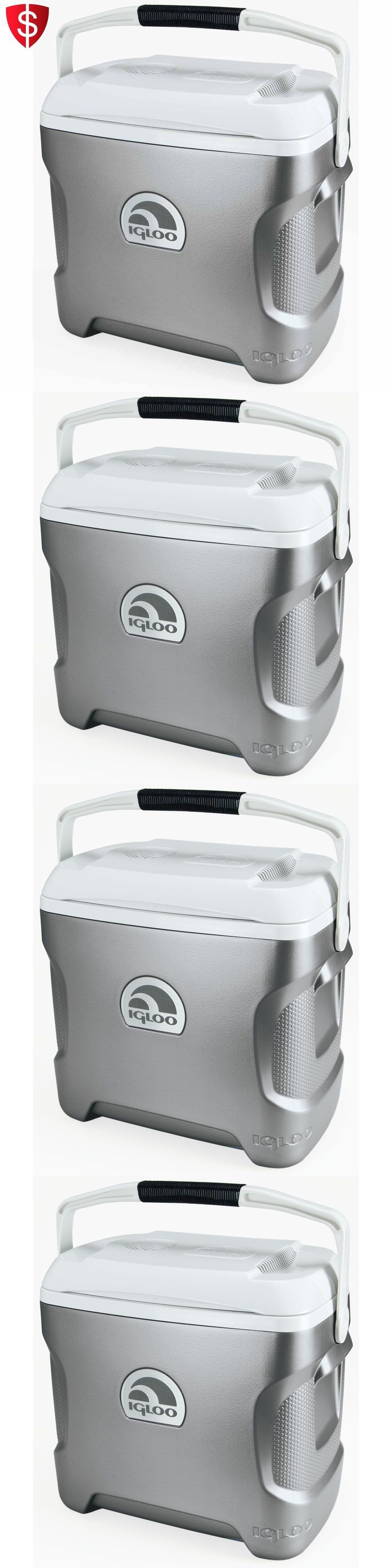 12-Volt Portable Appliances: Iceless Cooler Thermoelectric Travel Car Portable Wine Fridge 12 Volts 28 Quart -> BUY IT NOW ONLY: $79.4 on eBay!