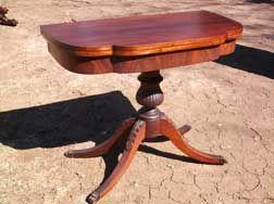 Mahogany Flip Top Table