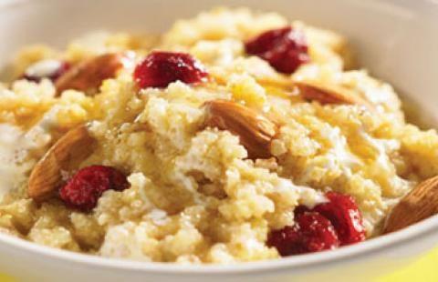 Amaranth Breakfast Cereal Recipe | Gabbyandlaird.com