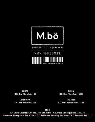 M.bö Otoño - Invierno 2017  Catálogo virtual de la temporada Otoño - Invierno 2017 Find Your Way. #MboLifestyle