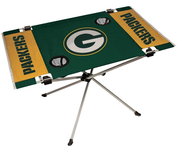 Packers NFL Table Endzone Style Table - Rawlings