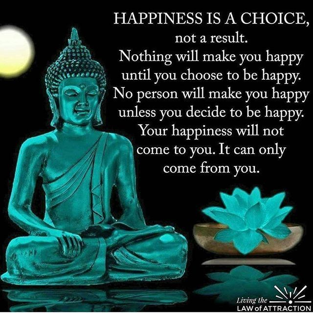You Don T Need A Man To Be Happy Quotes: Buddha Quotes On Happiness Is A Choice Not A Result