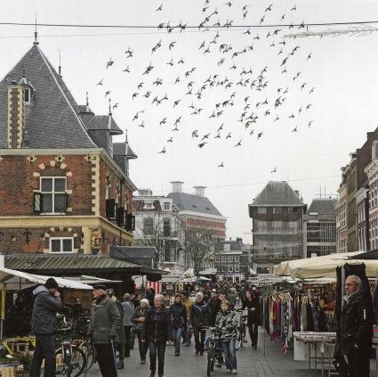 Binnenstad Leeuwarden  Fridays is market day