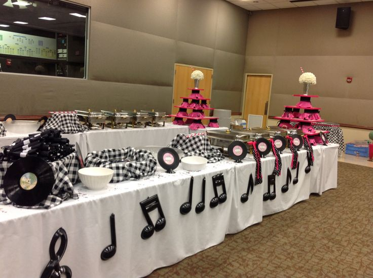 Best 25 sock hop decorations ideas on pinterest grease for 1950s decoration