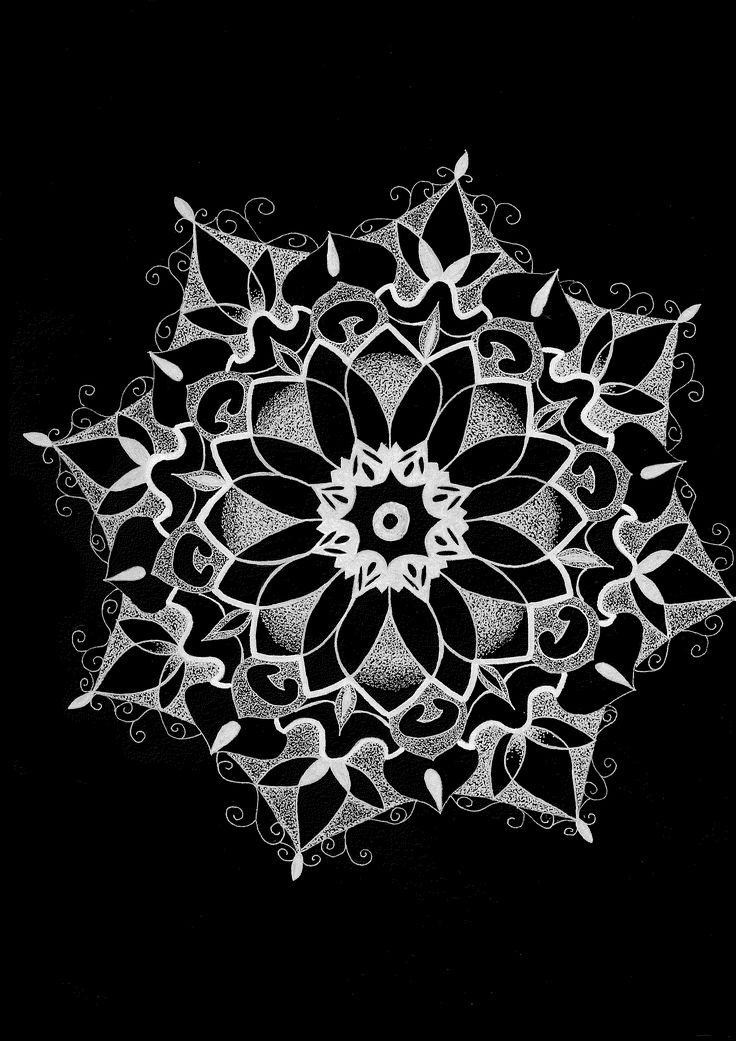 made by; lawraaah #mandala #mandalamaze #mandalas #zen #zentangle #negative #dotwork #lawraaah