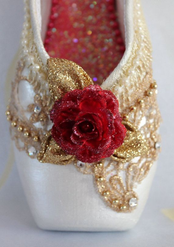Check out this item in my Etsy shop https://www.etsy.com/listing/486709739/decorated-pointe-shoenutcracker-ballet