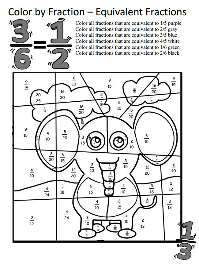 6th grade math review worksheet(1)  Fraction Worksheets For 6th Grade