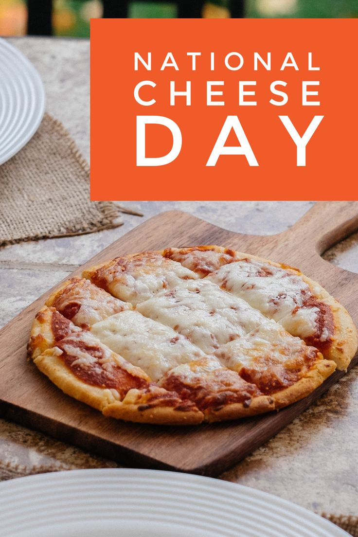 Celebrating National Cheese Day with our Organic and Gluten Free Four Cheese pizza varieties!