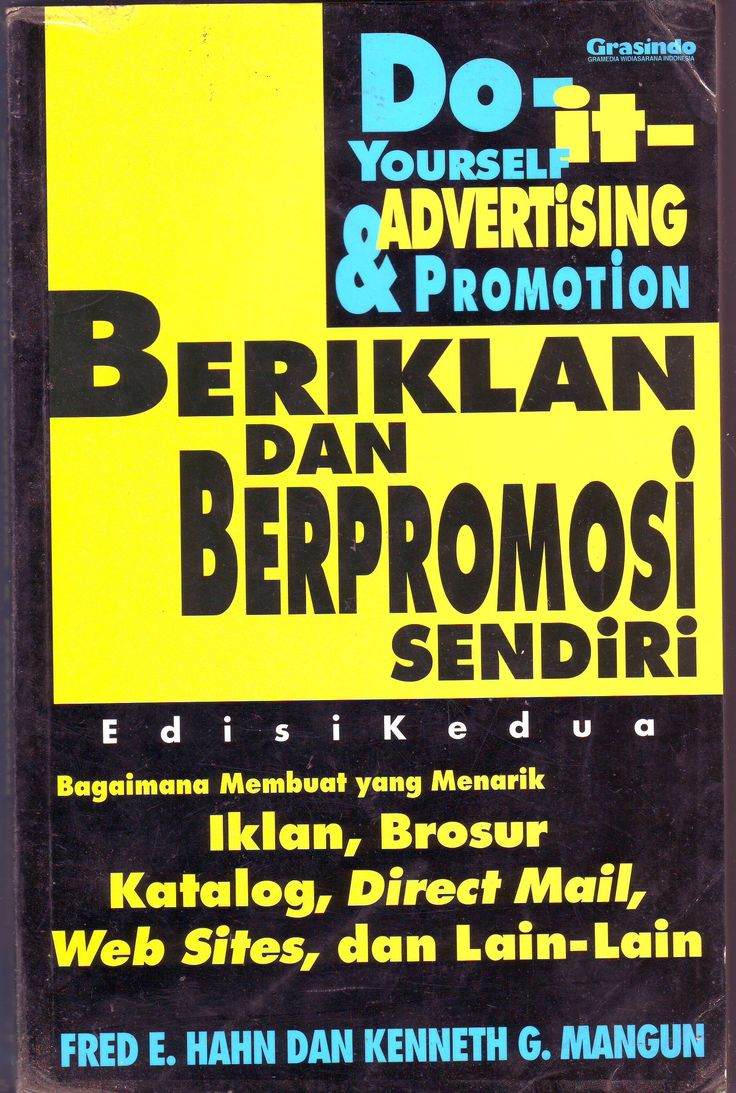 Do-it yourself Advertising and Promotion