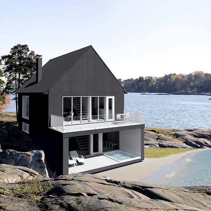 FMP Finland, a very new modern home. Tho still have some traditional features left